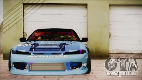 Nissan Silvia S15 DMAX für GTA San Andreas Rückansicht