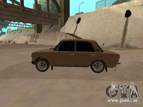 Vaz 2101 V1 pour GTA San Andreas laissé vue