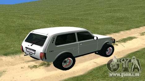 Lada Urban OFF ROAD für GTA San Andreas rechten Ansicht