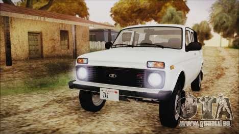 VAZ 2329 Niva 4x4 pour GTA San Andreas