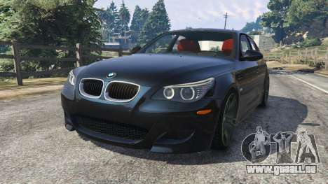 BMW M5 (E60) v1.1 pour GTA 5