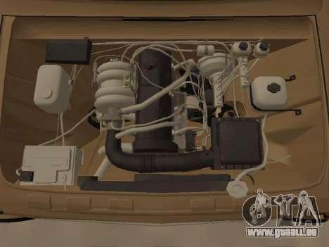 Vaz 2101 V1 pour GTA San Andreas vue arrière