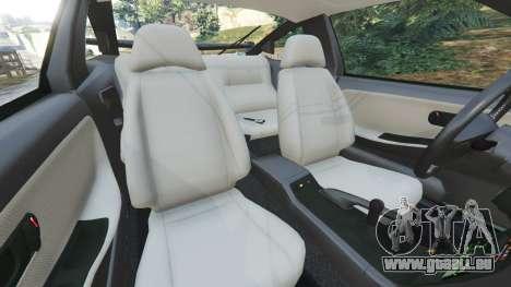 GTA 5 Nissan 240SX droite vue latérale