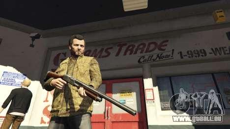 Remington 870e pour GTA 5