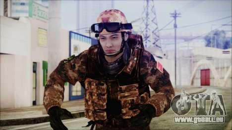 Chinese Army Desert Camo 2 für GTA San Andreas