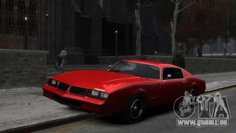 Classic Muscle Phoenix IV pour GTA 4