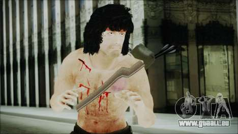 Rambo Skin pour GTA San Andreas