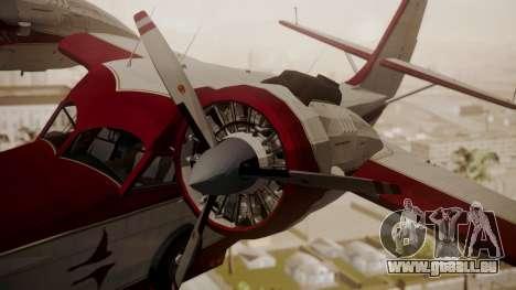 Grumman G-21 Goose N121GL für GTA San Andreas rechten Ansicht