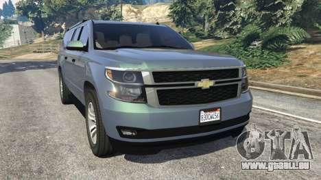 Chevrolet Suburban 2015 [unlocked] für GTA 5