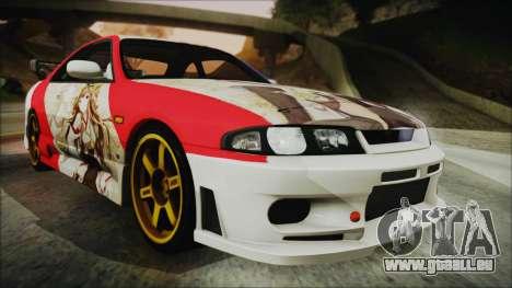 Nissan Skyline R33 Kantai Collection Kongou pour GTA San Andreas