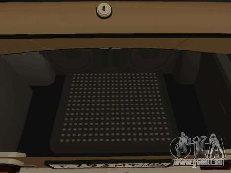 Vaz 2101 V1 pour GTA San Andreas vue intérieure