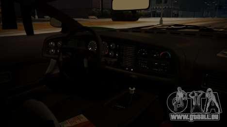 Jaguar XJ220 1992 FIV АПП pour GTA San Andreas sur la vue arrière gauche