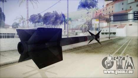 AIM9 Missile für GTA San Andreas dritten Screenshot