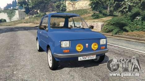 Fiat 126p v1.1 pour GTA 5