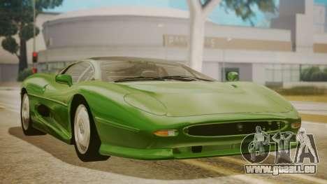 Jaguar XJ220 1992 FIV АПП pour GTA San Andreas
