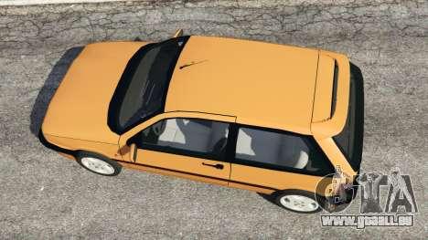 GTA 5 Fiat Tipo vue arrière