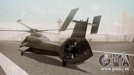 AH-99 Blackfoot pour GTA San Andreas laissé vue