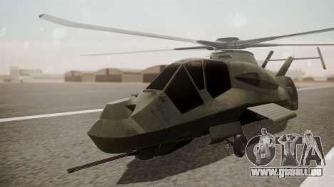 AH-99 Blackfoot pour GTA San Andreas
