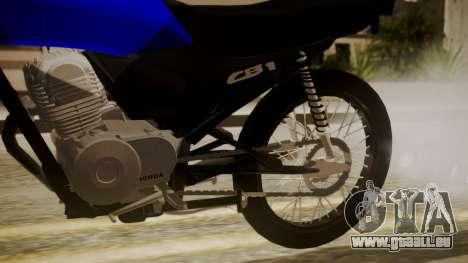 Honda CB1 pour GTA San Andreas vue de droite
