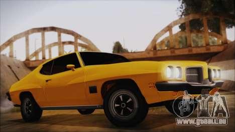 Pontiac Lemans Hardtop Coupe 1971 IVF АПП für GTA San Andreas