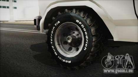 Ford F-150 Con Sonido für GTA San Andreas zurück linke Ansicht