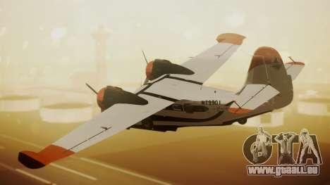 Grumman G-21 Goose N79901 pour GTA San Andreas laissé vue