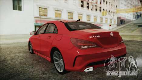 Mercedes-Benz CLA 250 für GTA San Andreas linke Ansicht