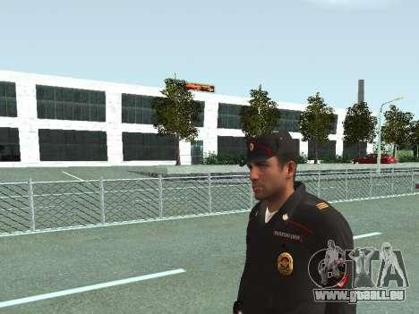 Le Sergent de SPA dans la forme de la nouvelle d pour GTA San Andreas troisième écran
