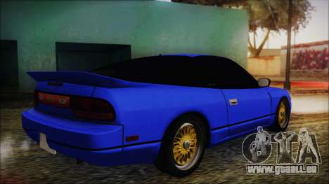 Nissan Silvia Sil80 pour GTA San Andreas laissé vue