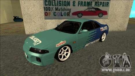 Nissan Skyline R33 Drift Falken pour GTA San Andreas