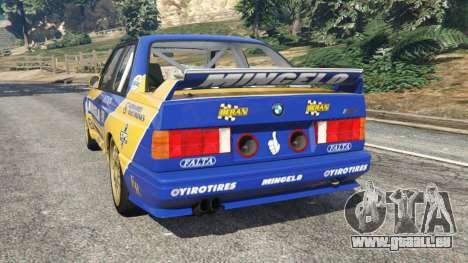 BMW M3 (E30) 1991 [Mingelo] v1.2 pour GTA 5