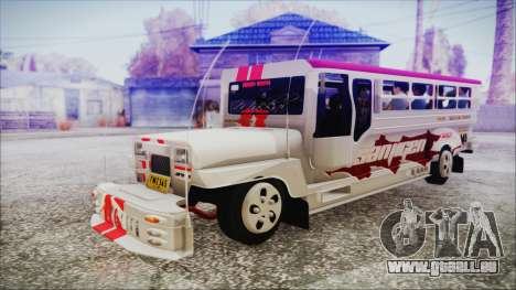 Hataw Motor Works Jeepney pour GTA San Andreas