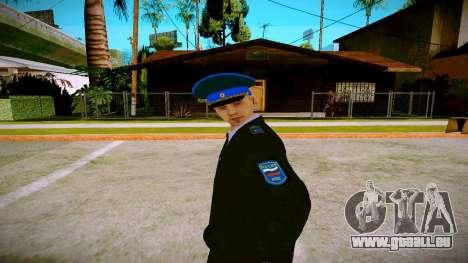 L'employé du Ministère de la Justice v1 pour GTA San Andreas deuxième écran
