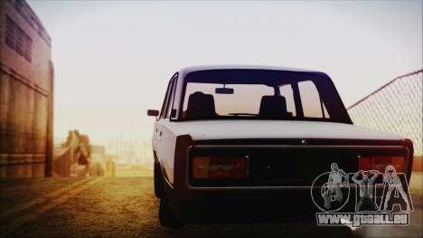 Bully VAZ 2106 Azeri-Stil für GTA San Andreas zurück linke Ansicht