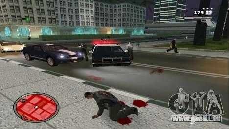 Réaliste De La Mort pour GTA San Andreas deuxième écran