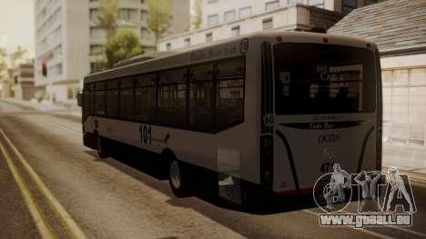 Todo Bus Agrale MT17.0LE AA für GTA San Andreas linke Ansicht