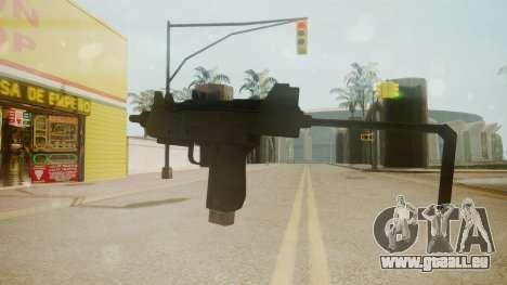 GTA 5 Micro SMG für GTA San Andreas zweiten Screenshot
