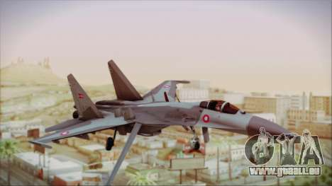Sukhoi SU-27 Royal Danish Air Force pour GTA San Andreas