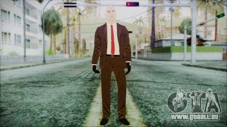 Hitman Absolution Agent 47 pour GTA San Andreas deuxième écran