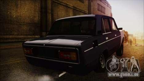 Bully VAZ 2106 Azeri-Stil für GTA San Andreas linke Ansicht