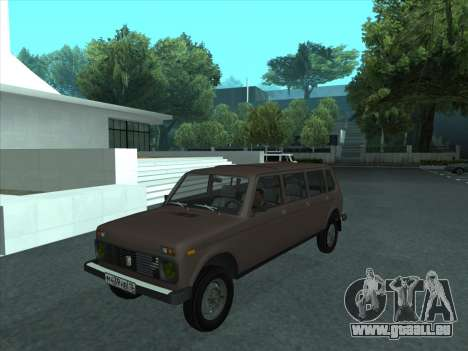 VAZ 2131 samudera ont pour GTA San Andreas