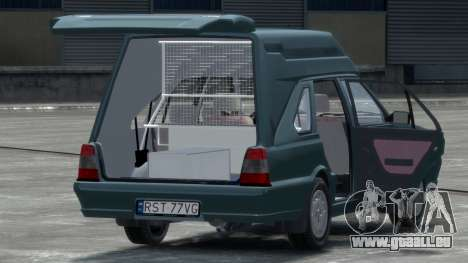 Daewoo-FSO Polonez Cargo Van Plus 1999 pour GTA 4 est un droit