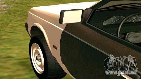 AZLK 2141 Hobo pour GTA San Andreas vue arrière