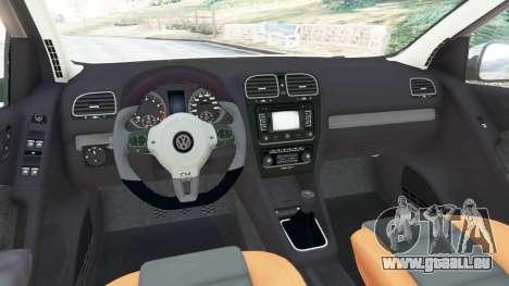 Volkswagen Golf Mk6 v2.0 [Slipknot] pour GTA 5