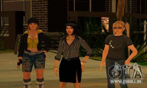 Womens Mega Pack by 7 Pack pour GTA San Andreas