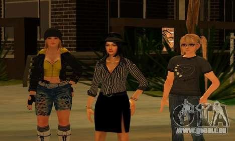 Womens Mega Pack by 7 Pack pour GTA San Andreas deuxième écran