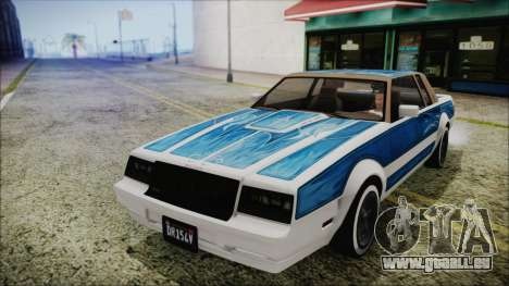 GTA 5 Willard Faction Custom without Extra Int. pour GTA San Andreas vue de droite