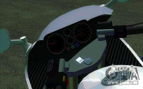 BMW R1200S de Motobot (DPS) pour GTA San Andreas laissé vue