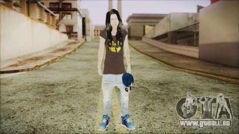 Home Girl SWAG pour GTA San Andreas deuxième écran