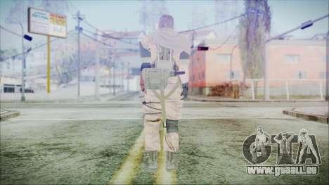 MGSV Phantom Pain Snake Scarf Golden Tiger pour GTA San Andreas troisième écran
